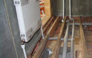 Схемы и монтаж двухтрубной системы отопления