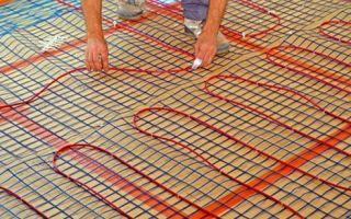 Как сделать монтаж электрического теплого пола