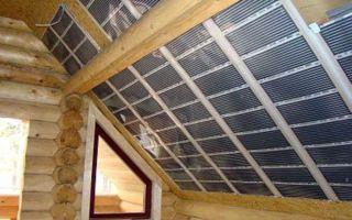 Как сделать теплый потолок в доме