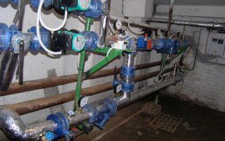 Устройство теплового узла отопления