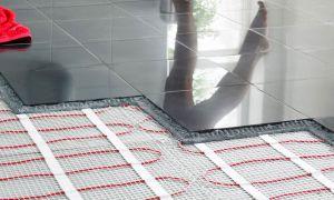 Выбор и укладка электрического теплого пола в ванной