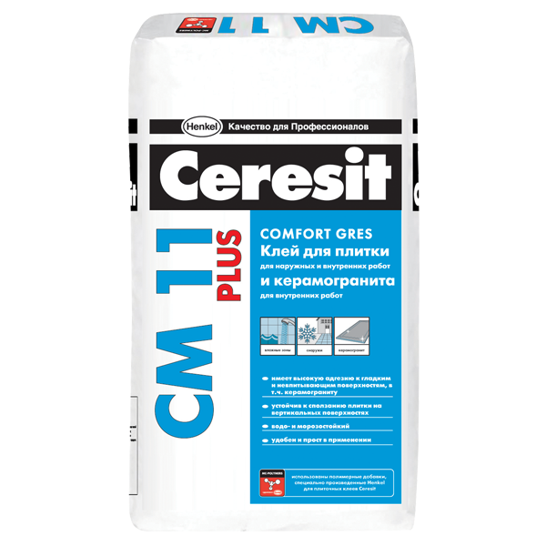 Плиточный клей Ceresit CM 11