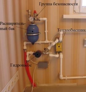 Теплообменник для теплого пола в квартире купить теплообменник замкнутого контура охлаждения проб производство