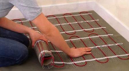 Укладка кабельного теплого пола своими руками