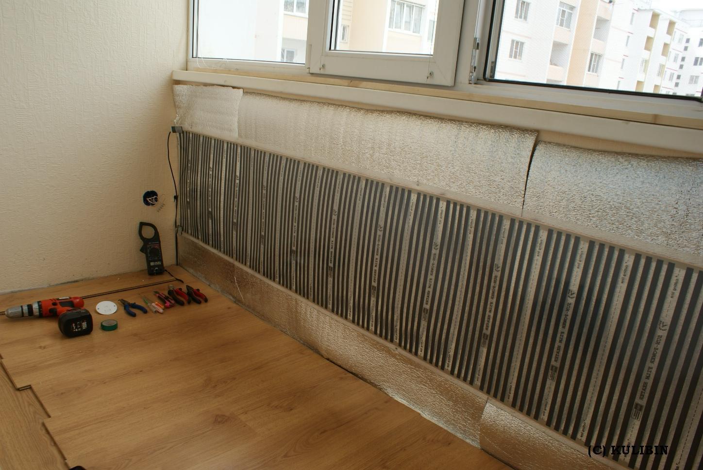 Теплые стены: монтаж теплого пола на стену.