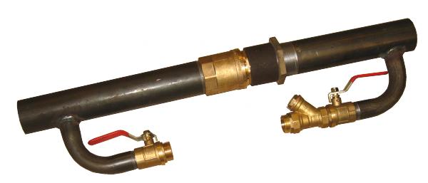 Байпас с клапаном в системе отопления