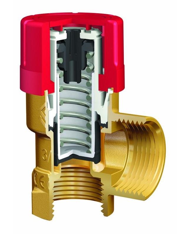 Конструкция предохранительного клапана