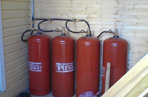 Расчёт потребления сжиженного газа на отопление