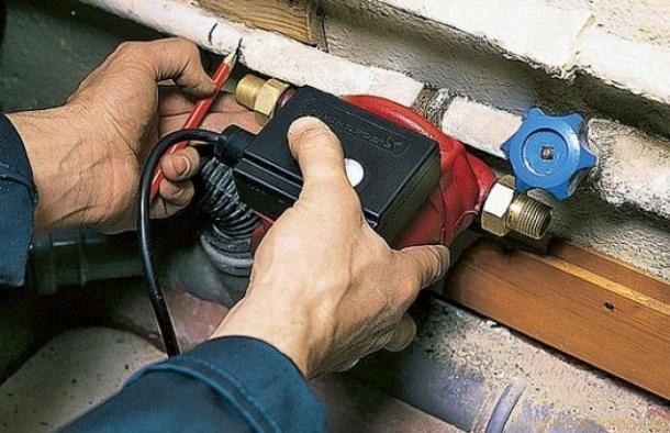 Система отопления в доме поднять давление