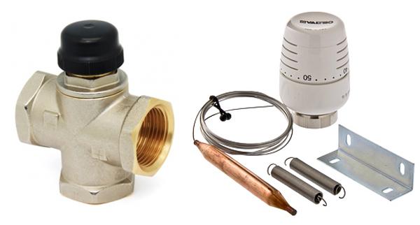 Термоклапан с выносным датчиком температуры