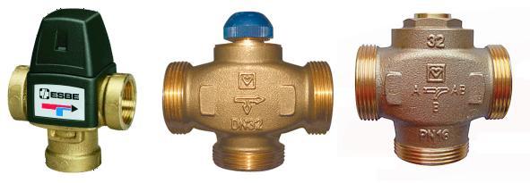 Трехходовые клапаны для отопления