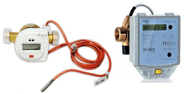 Ультразвуковые счетчики отопления
