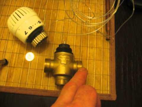 Установка трехходового клапана в системе отопления