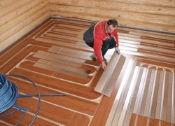 Водяные теплые полы на деревянный пол