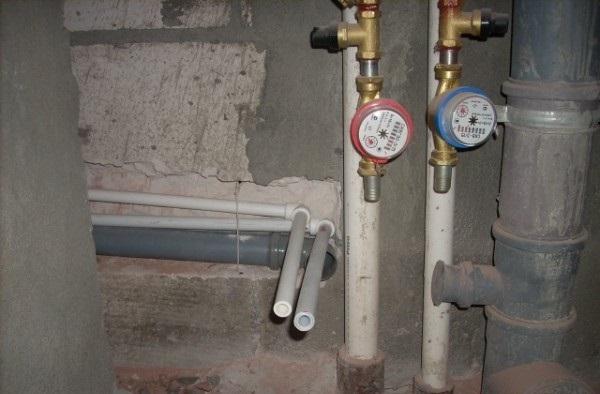 Перепланировка замена труб отопления на медные